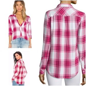 Rails hunter buttondown plaid shirt flannel